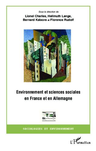 Couverture Environnement et sciences sociales en France et en Allemagne