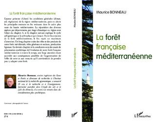 Couverture La forêt française méditerranéenne