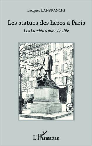 Couverture Les statues des héros à Paris