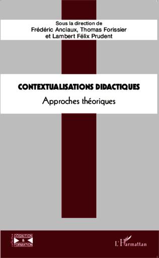Couverture Contextualisations didactiques