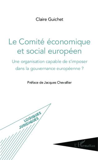Couverture Le Comité économique et social européen