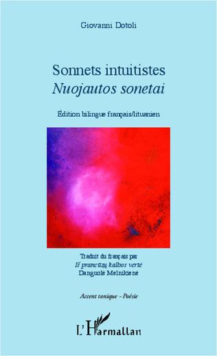 Couverture Sonnets intuitistes