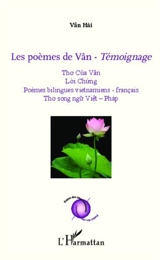 Couverture Les poèmes de Vân - <em>Témoignage</em>