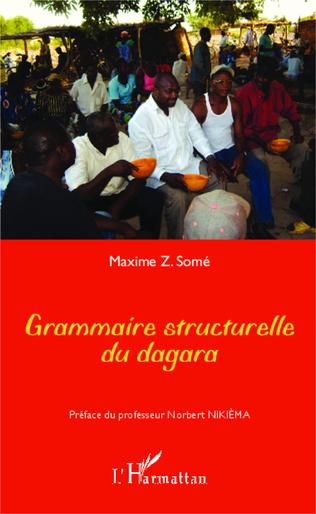 Couverture Grammaire structurelle du dagara