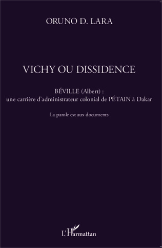 Couverture Vichy ou dissidence