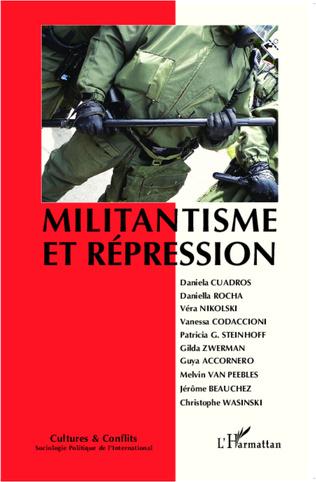 Couverture Militantisme et répression