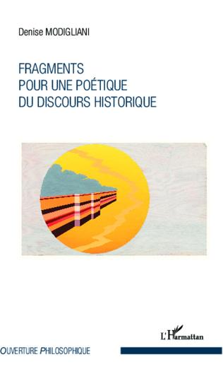 Couverture Fragments pour une poétique du discours historique