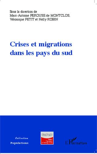 Couverture Crises et migrations dans les pays du sud