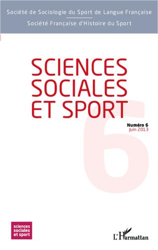 Couverture Sciences Sociales et Sport n° 6