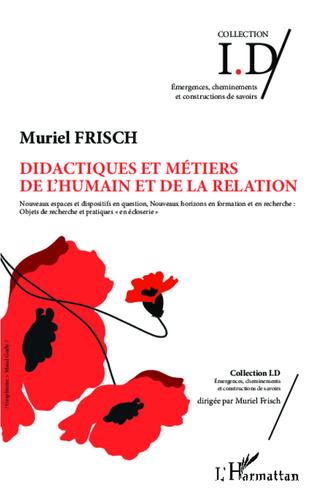 Couverture Didactiques et métiers de l'humain et de la relation