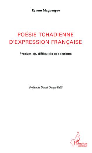 Couverture Poésie tchadienne d'expression française