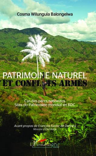 Couverture Patrimoine naturel et conflits armés