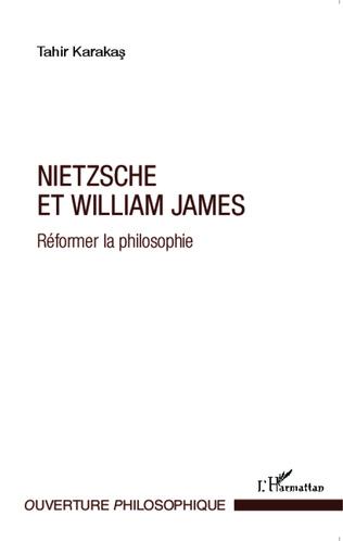 Couverture Nietzsche et William James