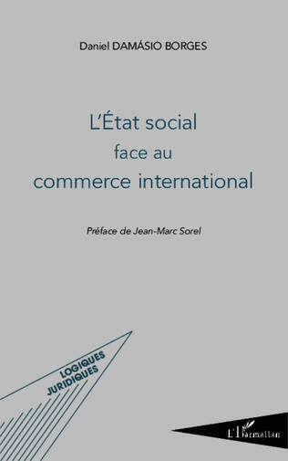 Couverture L'État social face au commerce international