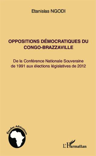 Couverture Oppositions démocratiques du Congo-Brazzaville