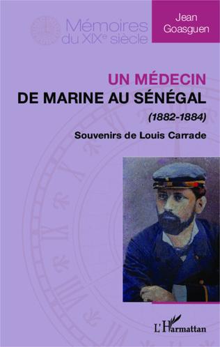 Couverture Médecin de marine au Sénégal (1882-1884)