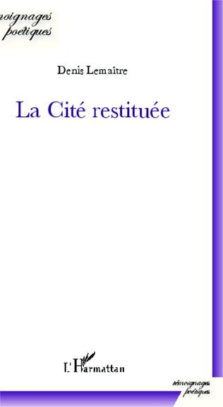 Couverture La Cité restituée