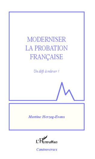 Couverture Moderniser la probation française