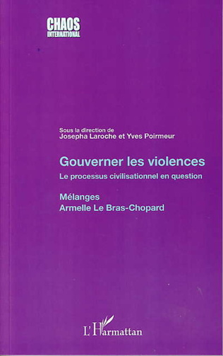 Couverture Gouverner les violences