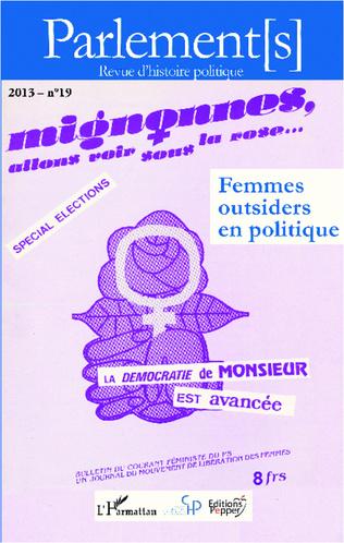 Couverture Femmes outsiders en politique