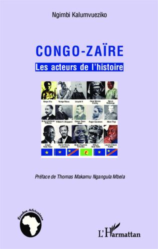 Couverture Congo-Zaïre les acteurs de l'histoire