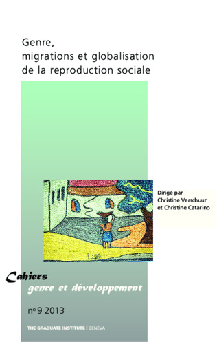 Couverture Genre, migrations et globalisation de la reproduction sociale