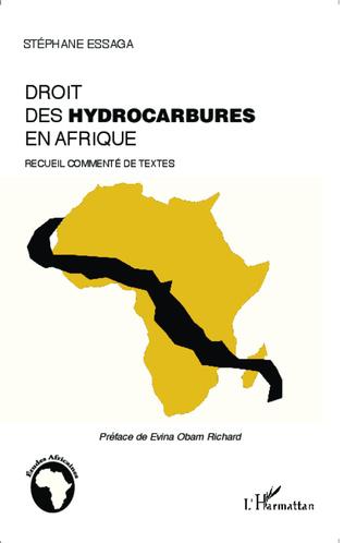 Couverture Le droit des hydrocarbures en Afrique