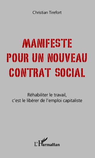 Couverture Manifeste pour un nouveau contrat social