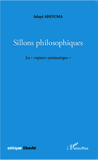 Couverture Sillons philosophiques
