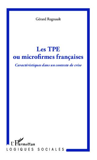 Couverture Les TPE ou microfirmes françaises
