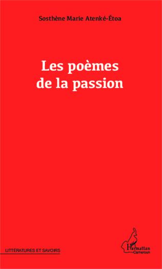 Couverture Les poèmes de la passion