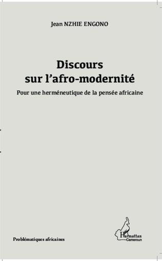Couverture Discours sur l'afro-modernité