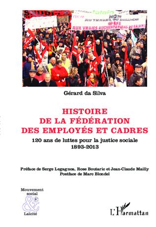 Couverture Histoire de la Fédération des Employés et Cadres