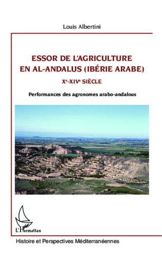Couverture Essor de l'agriculture en al-Andalus (Ibérie arabe)