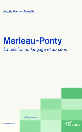 Couverture Merleau-Ponty