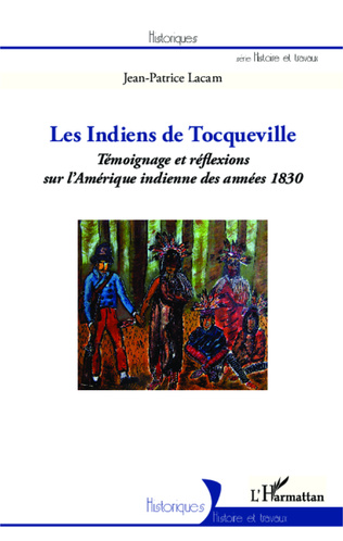 Couverture Les indiens de Tocqueville