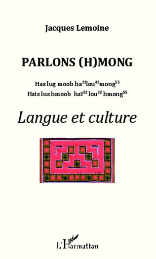 Couverture Parlons (h)mong