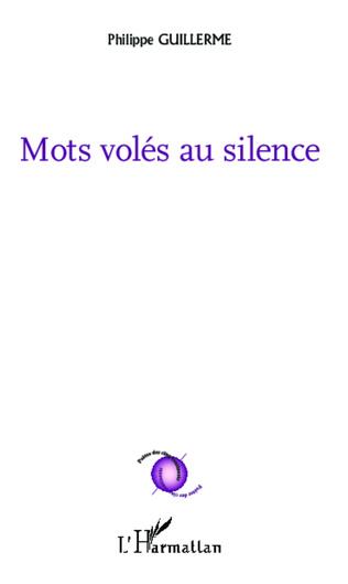 Couverture Mots volés au silence