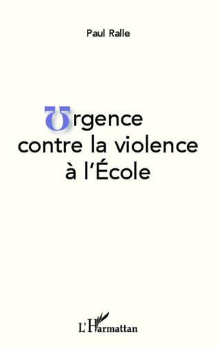 Couverture Urgence contre la violence à l'École