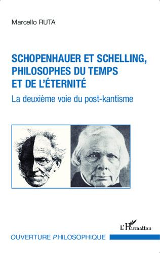 Couverture Schopenhauer et Schelling philosophes du temps et de l'éternité