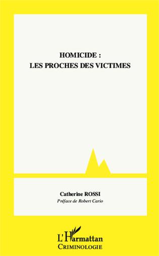 Couverture Homicide : les proches des victimes