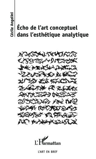 Couverture Echo de l'art conceptuel dans l'esthétique analytique