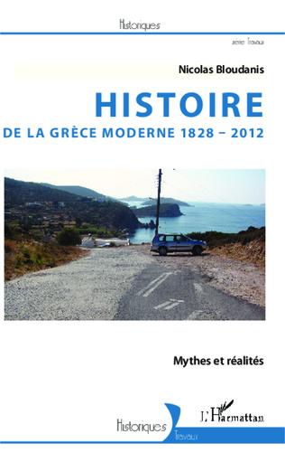 Couverture Histoire de la Grèce moderne 1828-2012