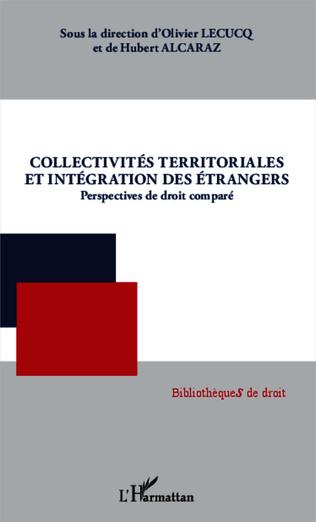 Couverture Collectivités territoriales et intégration des étrangers