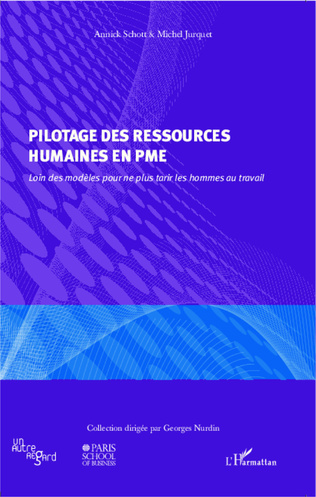 Couverture Pilotage des ressources humaines en PME