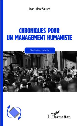 Couverture Chroniques pour un management humaniste