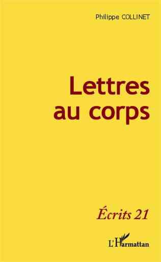 Couverture Lettres au corps