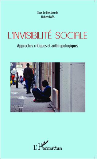 Couverture L'invisibilité sociale
