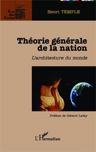 Couverture Théorie générale de la nation