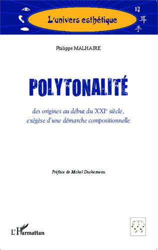 Couverture Polytonalité